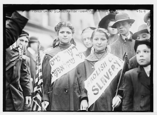 """Labor Day Parade, children in Child Labor demonstration, New York"" Bain News Service, publisher Date Created/Published: 5/1/09"