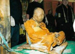 "Dashi-Dorzho Itigilov is a Buddhist Lama considered to have reached Nirvana, due to the lifelike state of his corpse, which is not subject to macroscopic decay. He died in 1927 and upon the latest examination in 2002, scientists and pathologists stated his body is ""in the condition of someone who had died 36 hours ago""."