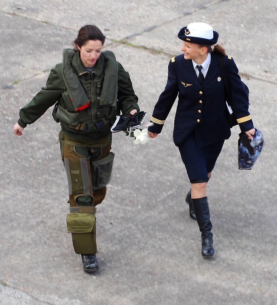 Female In Uniform 114