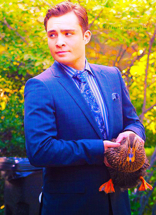 Ed Westwick, September 1st 2011, On the set of Gossip Girl