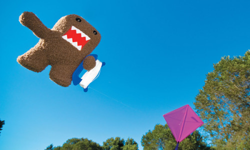 Domo's on the loose! (via Domo's In The World, Starring In A Brand-New Book! » MTV Geek)