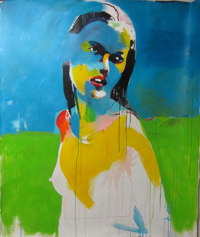 saatchionline:  Kate Moss 6 by Robert House Boston, United StatesOriginal: $2,400Prints Starting at: $20 Featured Collection: Fine Art Portraits