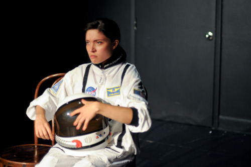 Still from First Woman On The Moon @ UCB Theatre NY taken by the super talented Ari Scott. Thank you for being so awesome, Ari!