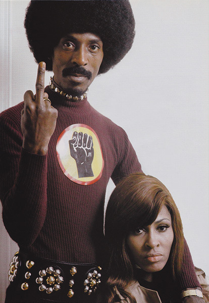 Ike & Tina Turner - Paris 1971 Photo: Tony Frank Scanned from my personnal archives
