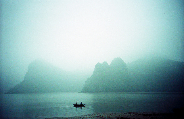 Halong Bay by Perpetually on Flickr.