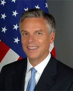 [Jon Huntsman's official photo as Ambassador to China]