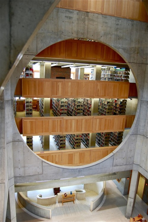 theabsolution:  Exeter Library