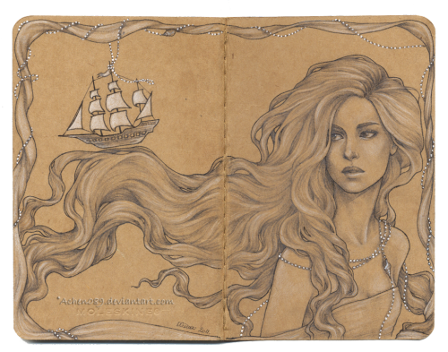 inkwings:  +The Sea Journal+ by Achen089