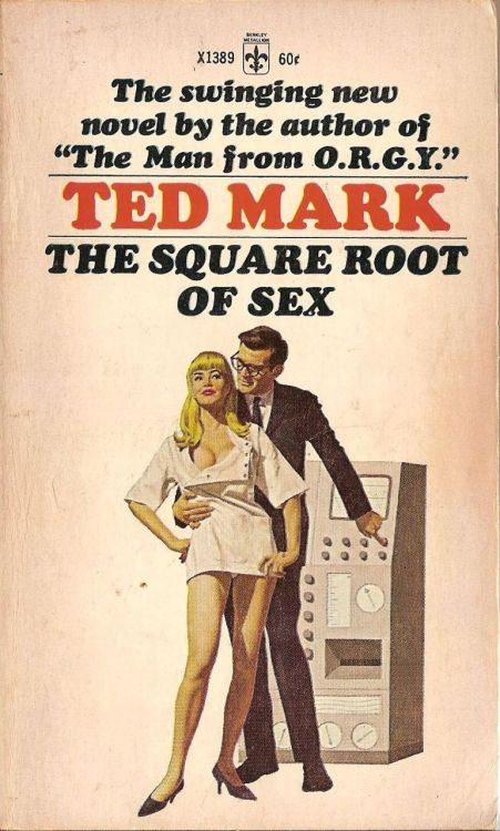 hyacinthdirigible:  vintagecoolillustrated:  The Square Root of Sex  If sex is negative then this book is imaginary.  For the comment, and the pic