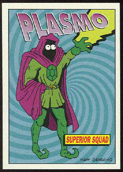 Plasmo the Mystic, member of the Superior Squad, ally of Radioactive Man.