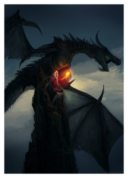deviantart:  Dragonthrone by ~ReneAigner