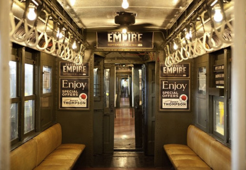 (via Design Don't Panic: Boardwalk Empire Subway Train)