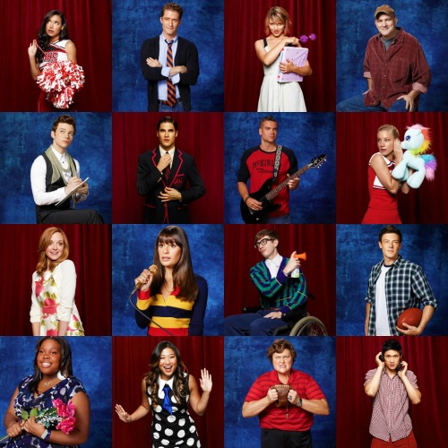 darrenanddamo-rockmyworld:  Glee Season 3 Photo Shoot - all 16 photos
