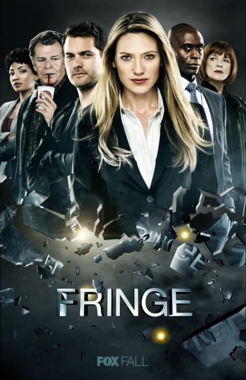 thefringedivision:  Fringe Season 4 Promotional Poster.  Why so perfect, Walter?