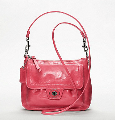 Today I fell in love. With this Coach bag. It's only $158…which isn't SO bad… …so I have decided to make a goal for myself (like uh, lose 10 pounds?) and when I get there: BAM I GET THE BAG. Do you ever set goals and rewards for yourselves? BAG UPDATE: my amazing husband said I could use the remaining Macy's money we have to buy it! I'm still going to wait until I reach SOME goal, otherwise I'll be THAT girl that buys Coach bags on a whim and that's so not me (…or is it?). This does make the deal sweeter: get to my goal and don't even have to spend all of my own money (every little bit helps!)!