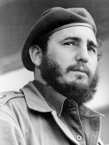 splood submitted: Young Fidel Castro Oh, I do love a man in uniform. And those eyes, so intense…