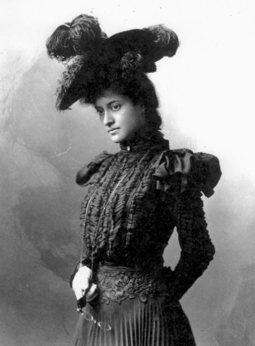 "fuckyeahhistorycrushes:  Victoria Ka'iulani Cleghorn, Crown Princess of the Kingdom of Hawai'i Born in Hawai'i on October 16, 1817, Princess Ka'iulani as she is best known was brilliant and a bombshell. This Hawaiin-Scottish princess studied Latin, English, French, German, Math, History, and Literature. Described in an article in the New York Times as ""tall and slender […] Her manner is affable, and she speaks with frankness,"" she was well-loved by everyone she met. She was studying in England when the Hawai'in monarchy was overthrown by the United States. She traveled to the US where she charmed the press with her beauty and unexpected intelligence. She even met President Cleveland and made quite an impression on him, although unfortunately he was ultimately unable to help her save her beloved Hawai'i from annexation. She returned to Hawai'i in 1897, only to die two years later at the age of 23.  ""Four years ago, at the request of Mr. Thurston, then a Hawaiian Cabinet Minister, I was sent away to England to be educated privately and fitted to the position which by the constitution of Hawaii I was to inherit. For all these years, I have patiently and in exile striven to fit myself for my return this year to my native country. I am now told that Mr. Thurston will be in Washington asking you to take away my flag and my throne. No one tells me even this officially. Have I done anything wrong that this wrong should be done to me and my people? I am coming to Washington to plead for my throne, my nation and my flag. Will not the great American people hear me?""  Beautiful, brilliant, and dedicated to her beloved country and people. How could anyone not have a crush on her?"