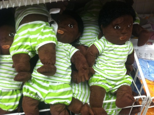 fuckyeahdollsofcolor:  plush babies at Ikea