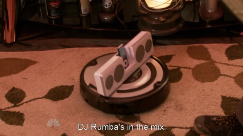 DJ Rumba is my new favorite thing.  Thank you Parks and Rec.