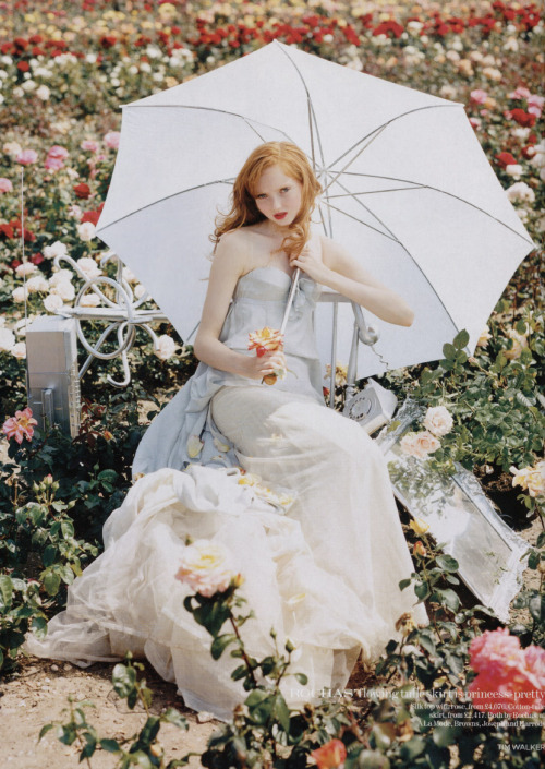 onlythininmydreams:  Lily Cole - Vogue UK
