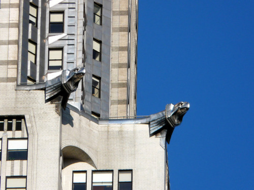 William Van Alen. Chrysler Building Gargoyle. 1930. New York.