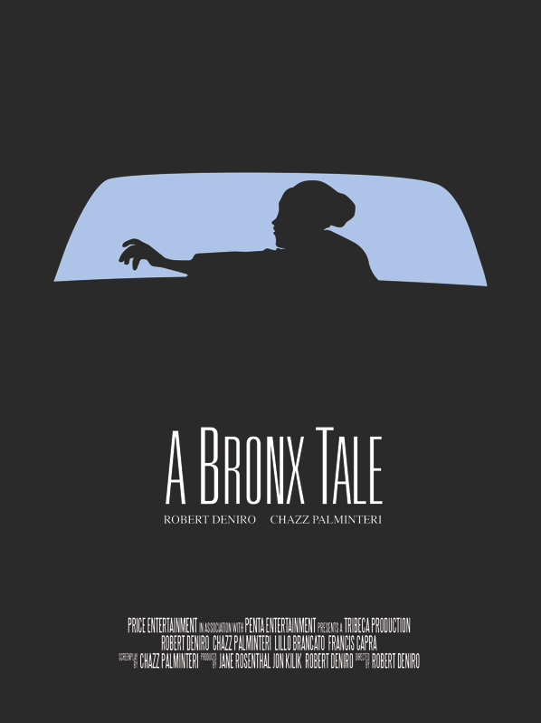 A Bronx Tale minimal movie poster by Vincent Gabriele