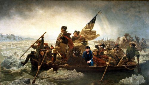 Keanu crossing the Delaware Submitted by landyrane