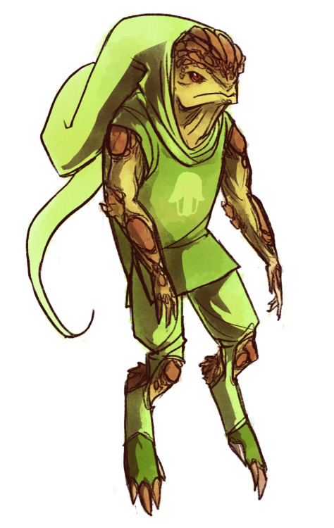 i offer no explanation and no regrets for this i love krogans they're the best (he is heir of hope by the way i thought the title was fitting considering their fate as a species)
