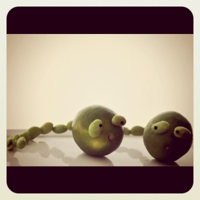 Lime e Edamame  (Taken with instagram)
