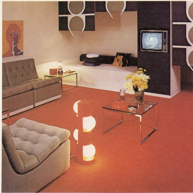 1970s Living Room by glen.h on Flickr.