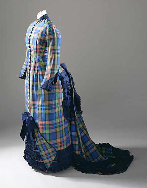 Dress ca. 1878 via The Los Angeles County Museum of Art