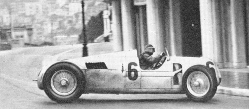Rosemeyer going sideways….