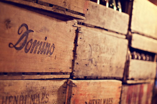 i love wooden crates