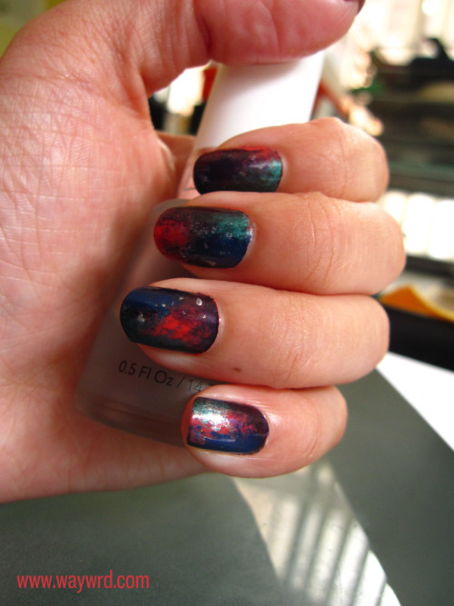 My galaxy nails have improved over time.