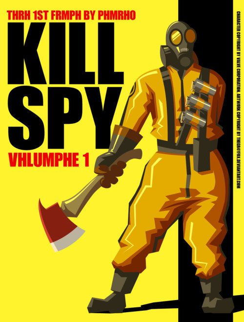 freakun:  Kill Spy // by TheGr4yFox
