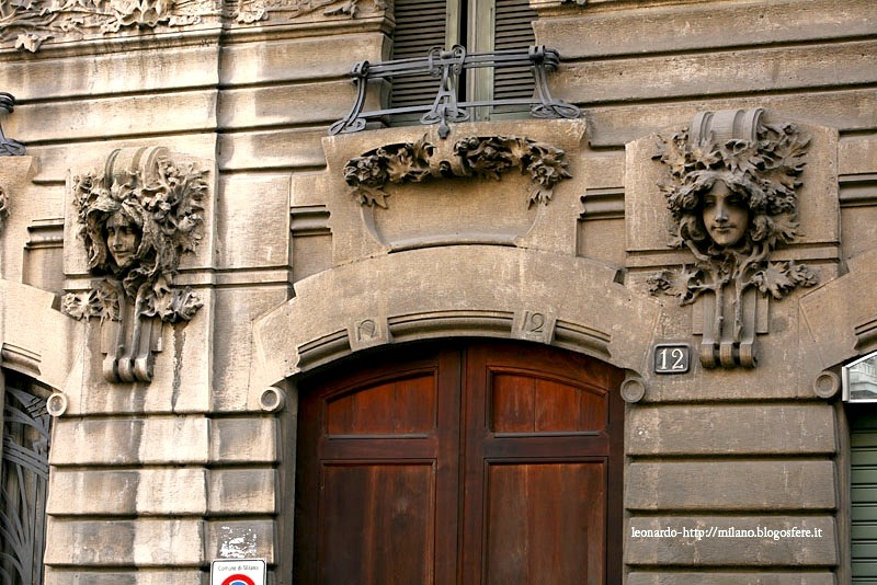 | ♕ |  Milan - Art-Nouveau Entrance  |  by MeneghinofromBovisa