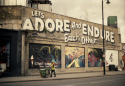 """Let's adore and endure each other"" by Steve 'ESPO' Powers, London, United Kingdom - Taken with a Canon AE-1, 400 ISO film."