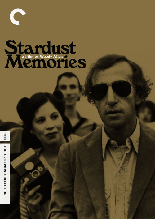 "Criterion Cover for Woody Allen's ""Stardust Memories"""