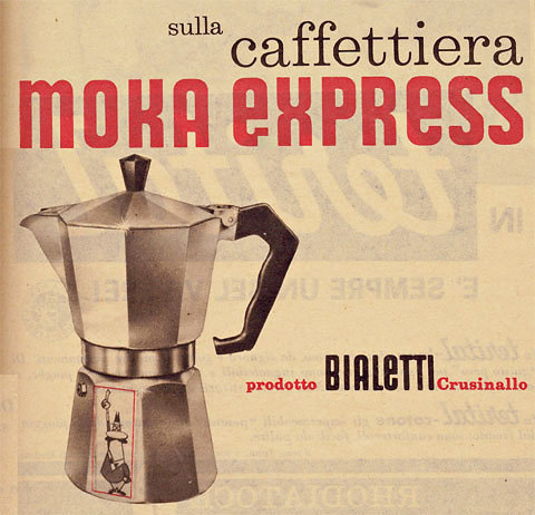The Moka Express, a stovetop espresso machine that was meant for the home, provided both an affordable espresso and a beautiful object to make it in. Now 9 in 10 Italian households own a Moka Express. The iconic object, which Luigi De Ponti helped develop for Bialetti, has been exhibited at the Museum of Modern Art, the Smithsonian Cooper-Hewitt National Design Museum and the London Design Museum.   (via Who Made That Moka Express? - NYTimes.com)