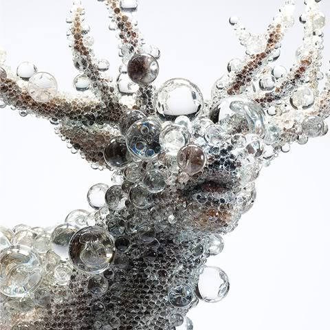 Pixcell Sculptures by Kohei Nawa