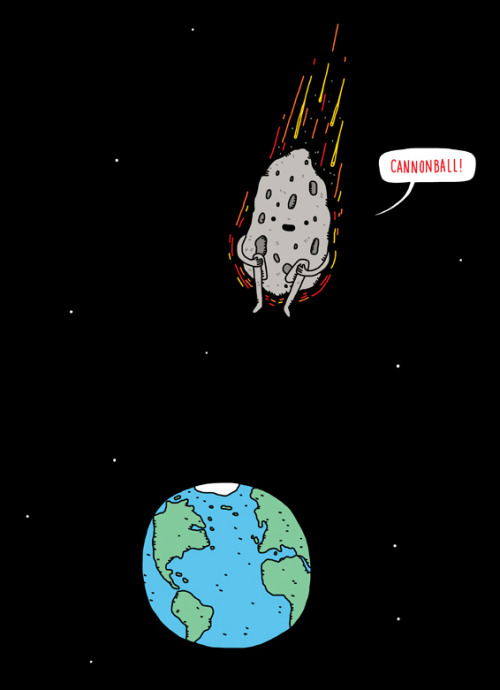 threadless:  Cannonball! by Haasbroek