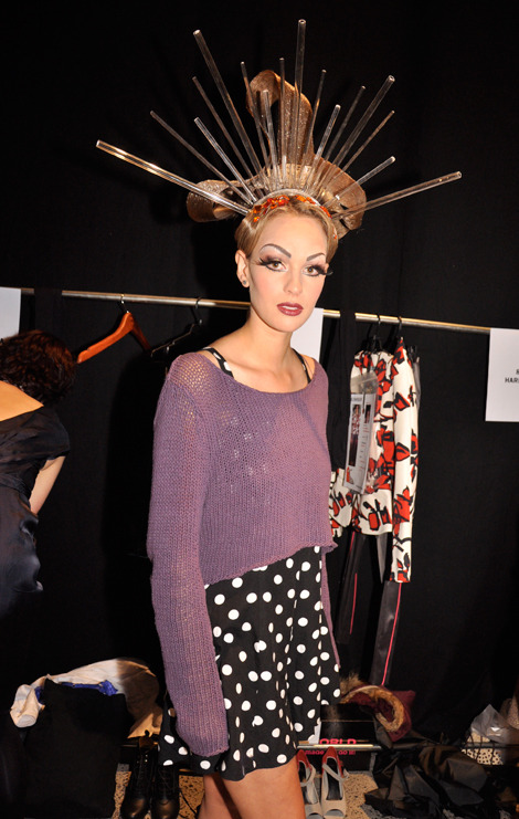 Beautiful backstage photo from nikaugabriell #WORLD #NZFW
