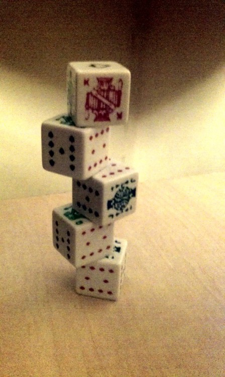 Poker Dice, what else?