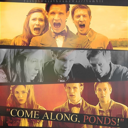 """Come along, Ponds!"""