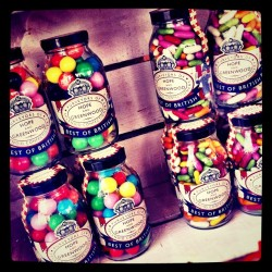 #gobstoppers and #jellybeans. I was so tempted. #candy#sweets#colours#colors (Taken with Instagram at Hope & Greenwood Old Fashioned Sweet Shop)