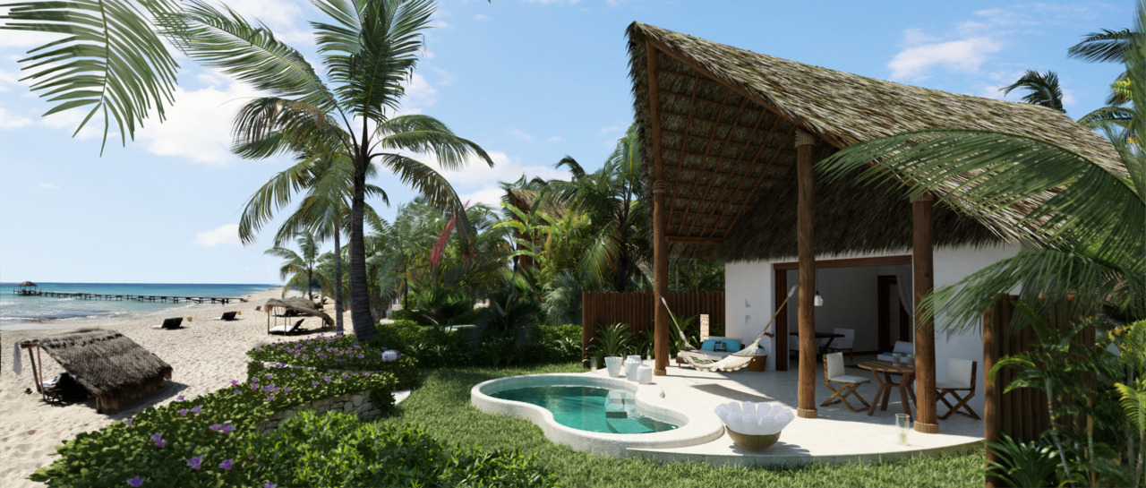 New Oceanfront Villas at The Tides Riviera Maya.