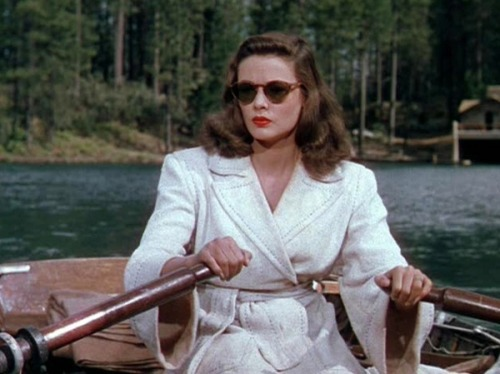 ohrochester:  wehadfacesthen:  Gene Tierney in Leave Her To Heaven (John M Stahl, 1946)  Always re-blog.   Like lookin' in a mirror. ;o)