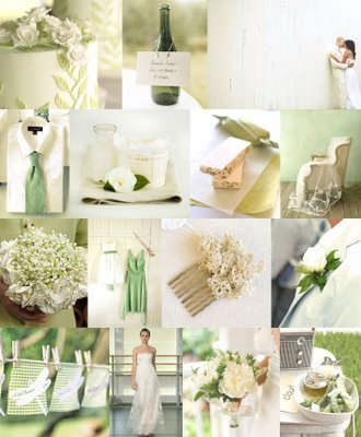 aqua/greens/blue/gold inspired/patterned for summer weddings #2