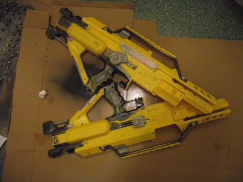 Stampede Paint Job Part I Diaries Of A Nerf Armourer
