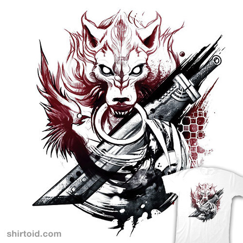 shirtoid:  Final Fantasy Amano Homage available at RedBubble  ah the memories!